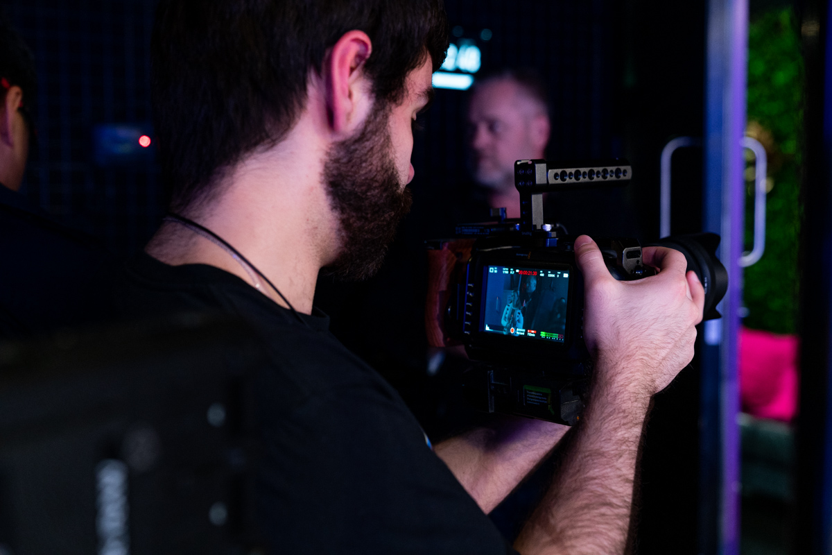 Behind The Scenes Photography + Video