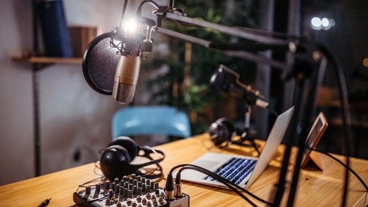 The Podcaster - Pyrmont Studio